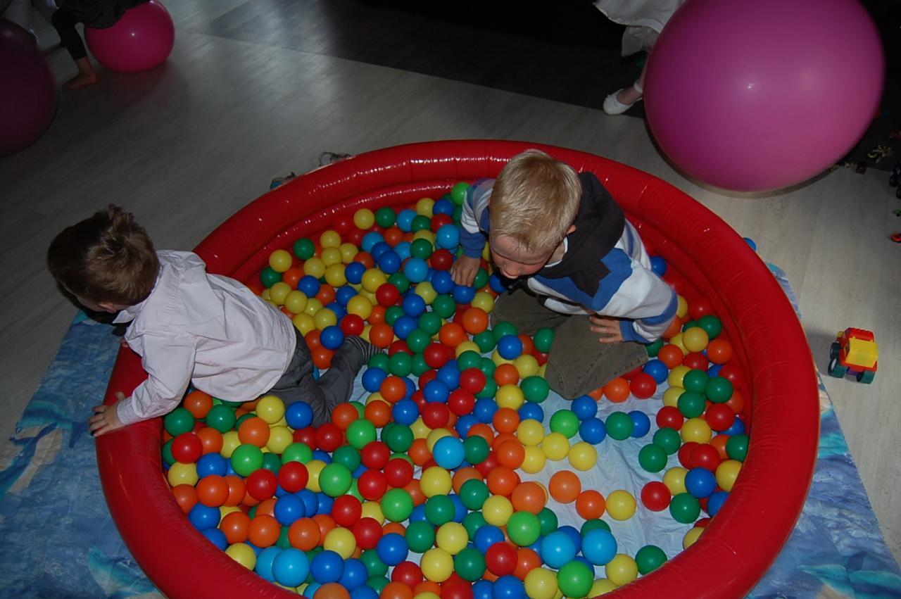 Un petit bain de boules !