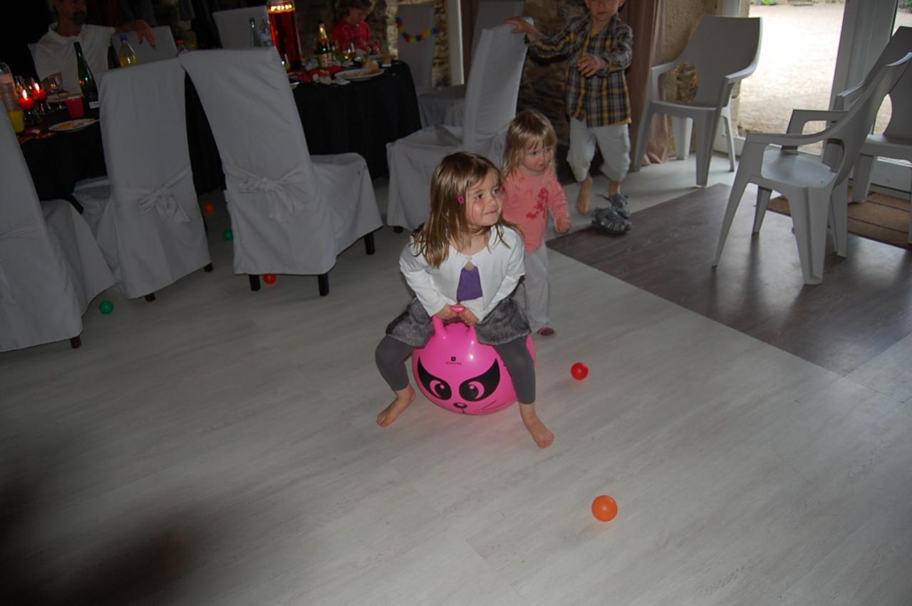 Super le ballon sauteur !