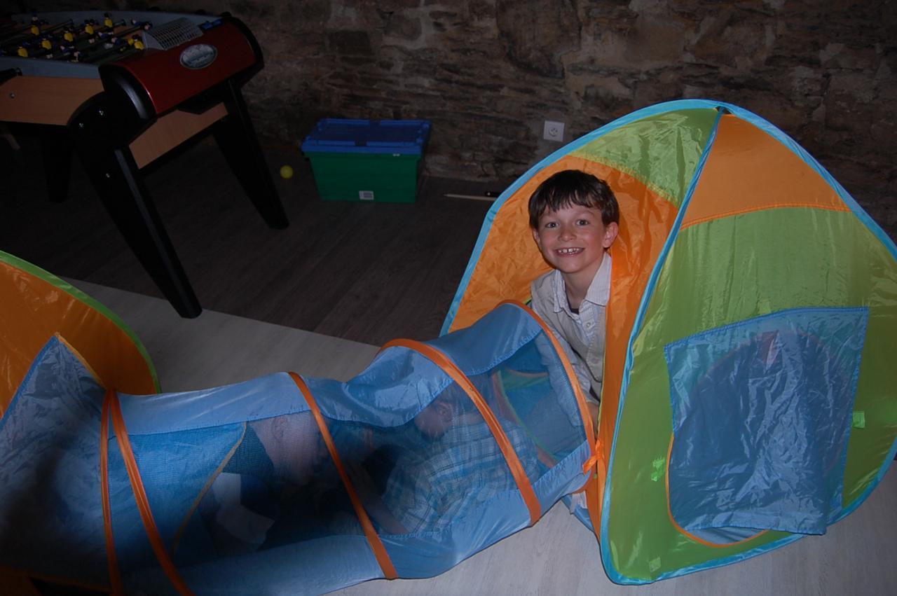 Et maintenant , du camping !