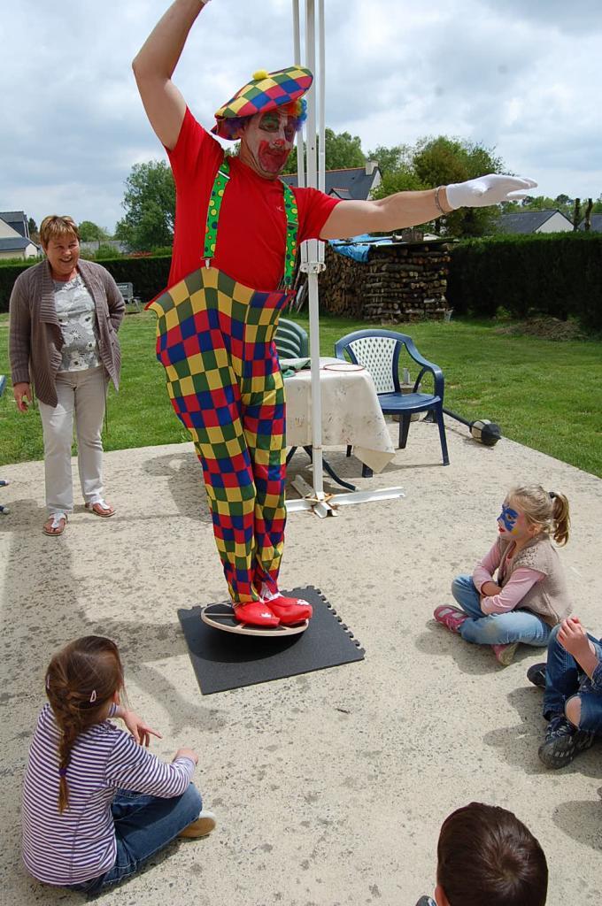 Quel équilibre monsieur le clown !