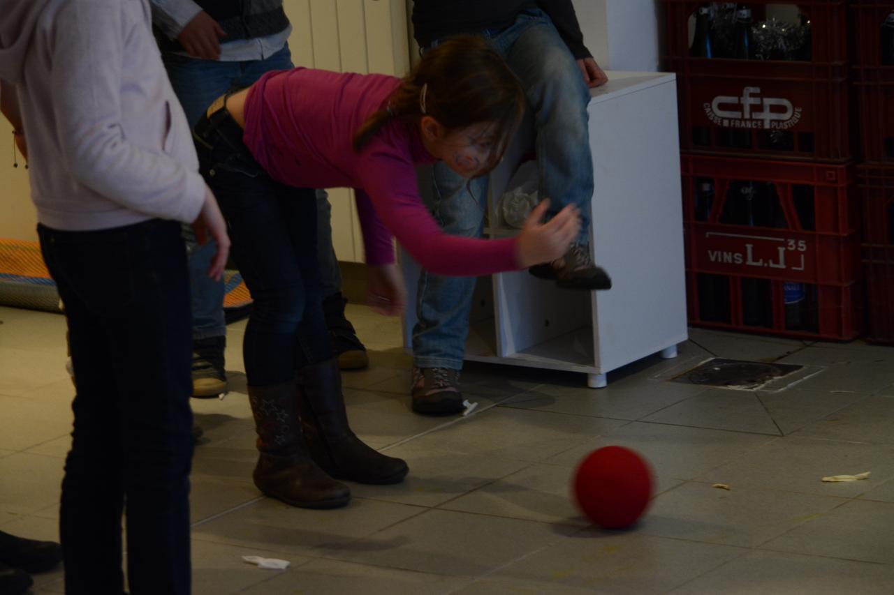 Petite partie de bowling