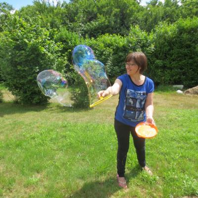 Toujours des bulles !
